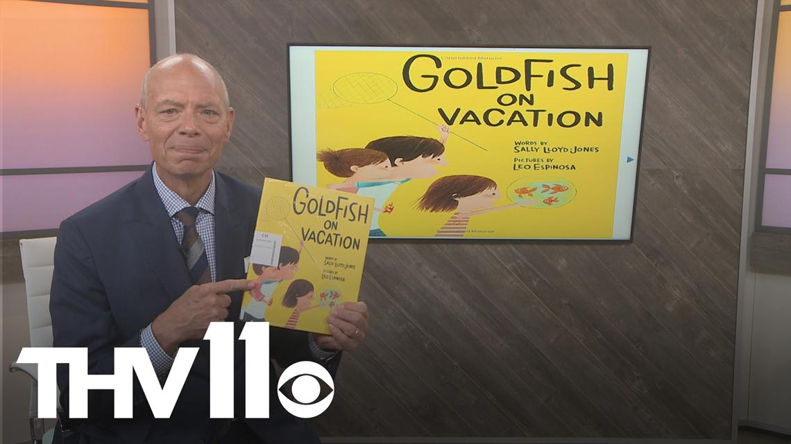 Craig O'Neill reads Goldfish on Vacation by Sally Lloyd Jones