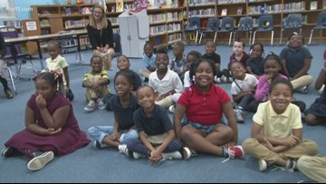 Reading Roadtrip takes on Booker T. Washington first-graders