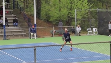 Seven days of competitive tennis in Little Rock