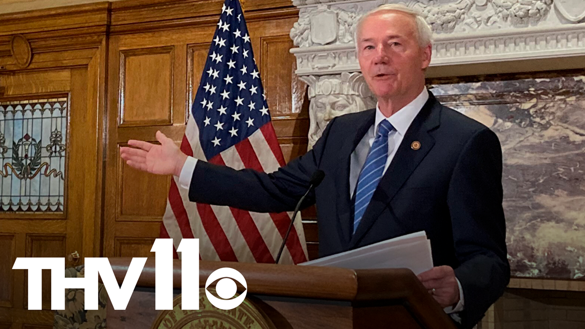 Gov. Asa Hutchinson responds to President Biden's vaccine mandate