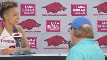 Mike Neighbors and Alexis Tolefree recap Arkansas' win over UAB