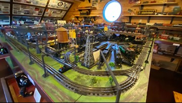 Two-story toy train museum features pieces from early 1900s, interactive exhibits