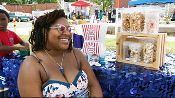 Event brings entrepreneurs young and old to Pine Bluff's downtown streets