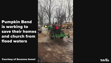 Pumpkin Bend community fights to save homes, church