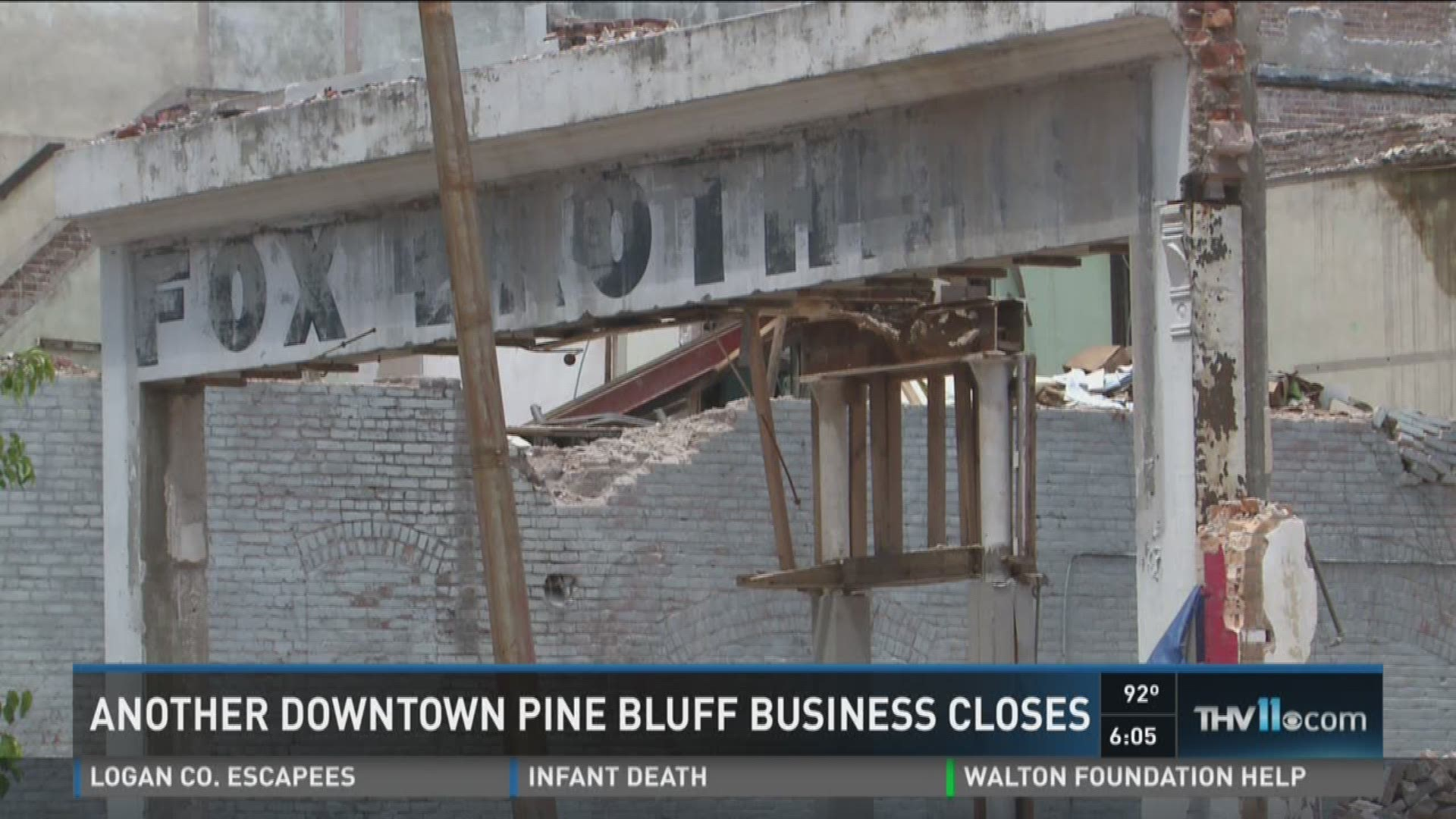Another business in Pine Bluff sees its doors close