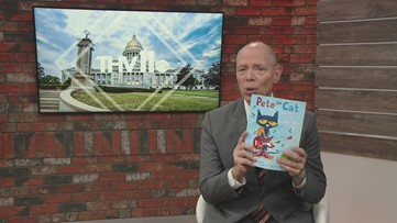 Craig O'Neill reads Pete the Cat