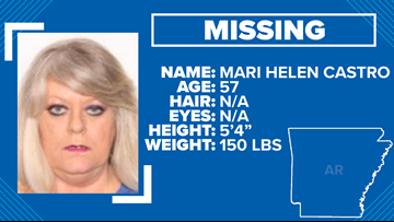 Little Rock police searching for 57-year-old woman
