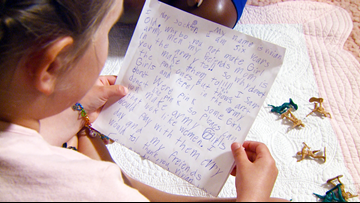 6-year-old Little Rock girl writes letter to toy company asking why they don't make girl soldiers