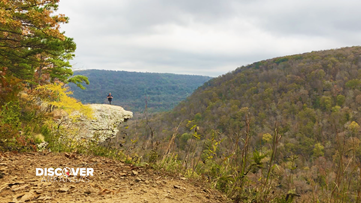 Hawksbill Crag is the epitome of photo opportunities in Arkansas