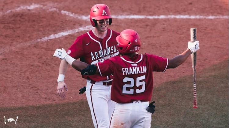 Hog wild: Memorable win leaves No. 1 Arkansas atop SEC West