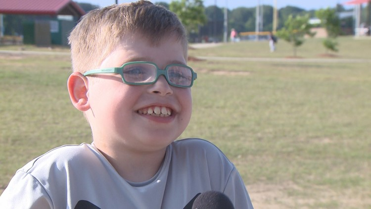 Cabot's Leaping Beyond baseball program helps kids with disabilities shine