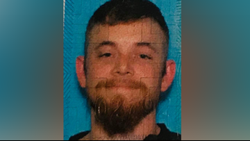 Franklin County Sheriff's Office searching for 27-year-old man after his vehicle was found abandoned