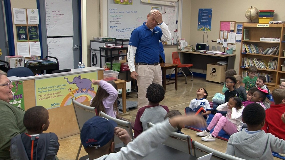 Robert Davis Elementary students get a dose of humor, horror, and weird