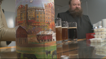Heavenly hops   Arkansas monastery decides to get into the brewing business
