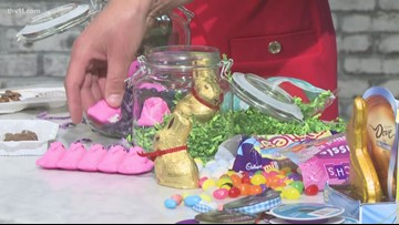 Give the gift of candy with Easter in a Jar