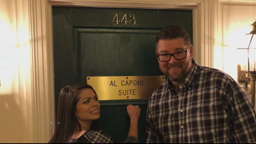 Learning the history behind Al Capone's hotel room in Hot Springs