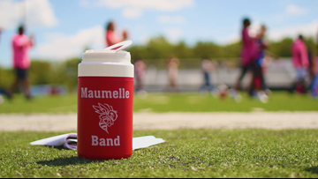 Maumelle High School Band tells story of survival, persistence through halftime performance