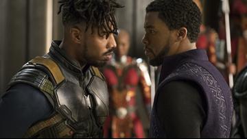 Black Panther is first superhero movie to be nominated for best picture Oscar