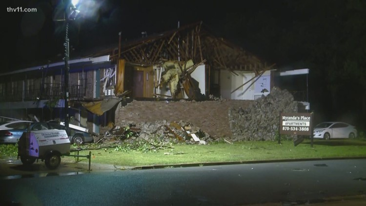Red Cross assisting Pine Bluff families impacted by May 8 severe weather