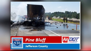 'Serious accident' causes detour at Exit 37 in Pine Bluff