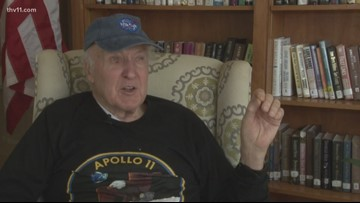 Little Rock man remembers his part in helping Apollo 11 get to the moon