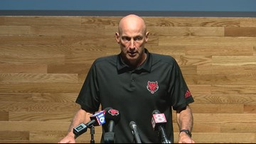 """""""It really hurts for our team"""": David Duggan recaps Red Wolves loss to SMU"""