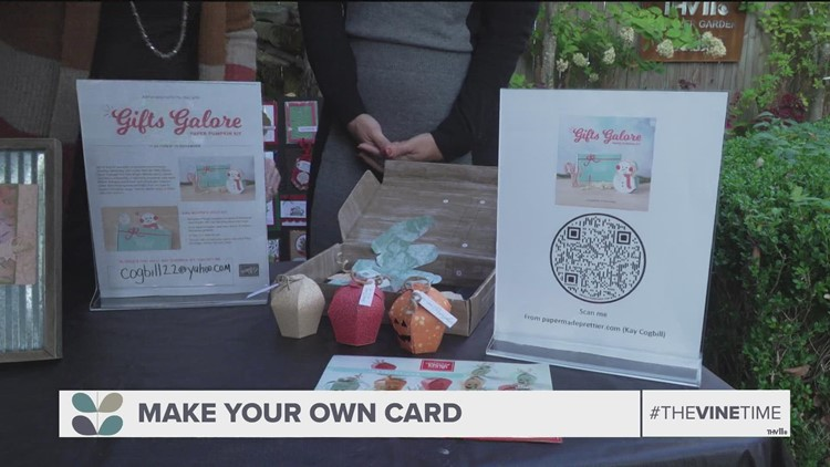 Get crafty with a DIY pumpkin card kit from PaperMadePrettier