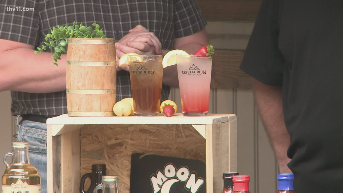 Two Hot Springs businesses are pairing moonshine & barbecue for a new twist on summer