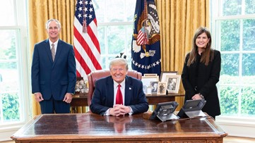 Arkansas couple shares COVID-19 recovery story with President Trump, VP Pence