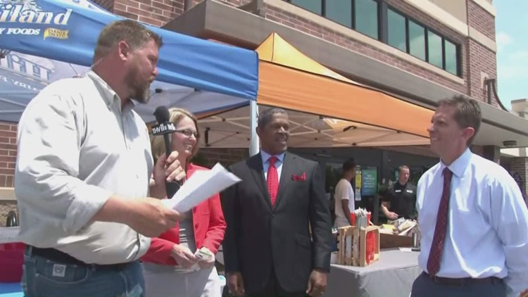 THV11 Summer Cereal Drive in Benton