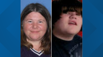Police searching for missing mother, son from Benton
