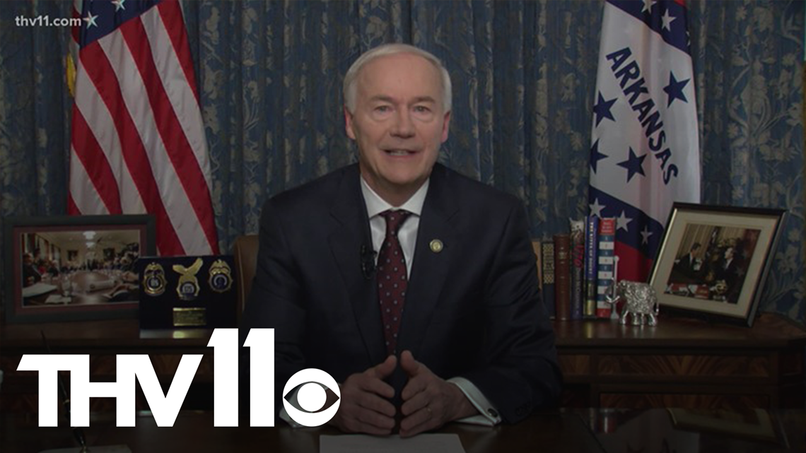 Gov. Asa Hutchinson still pushing for legislatures to pass hate crime bill