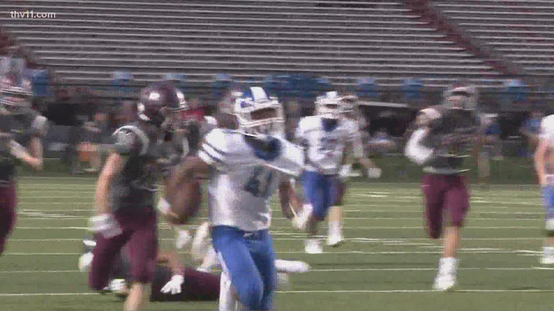 Bryant wins Yarnell's Sweetest Play for Week Zero