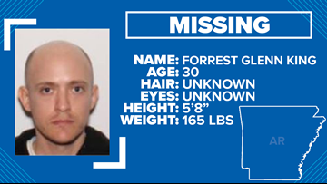Little Rock police searching for missing 30-year-old homeless man