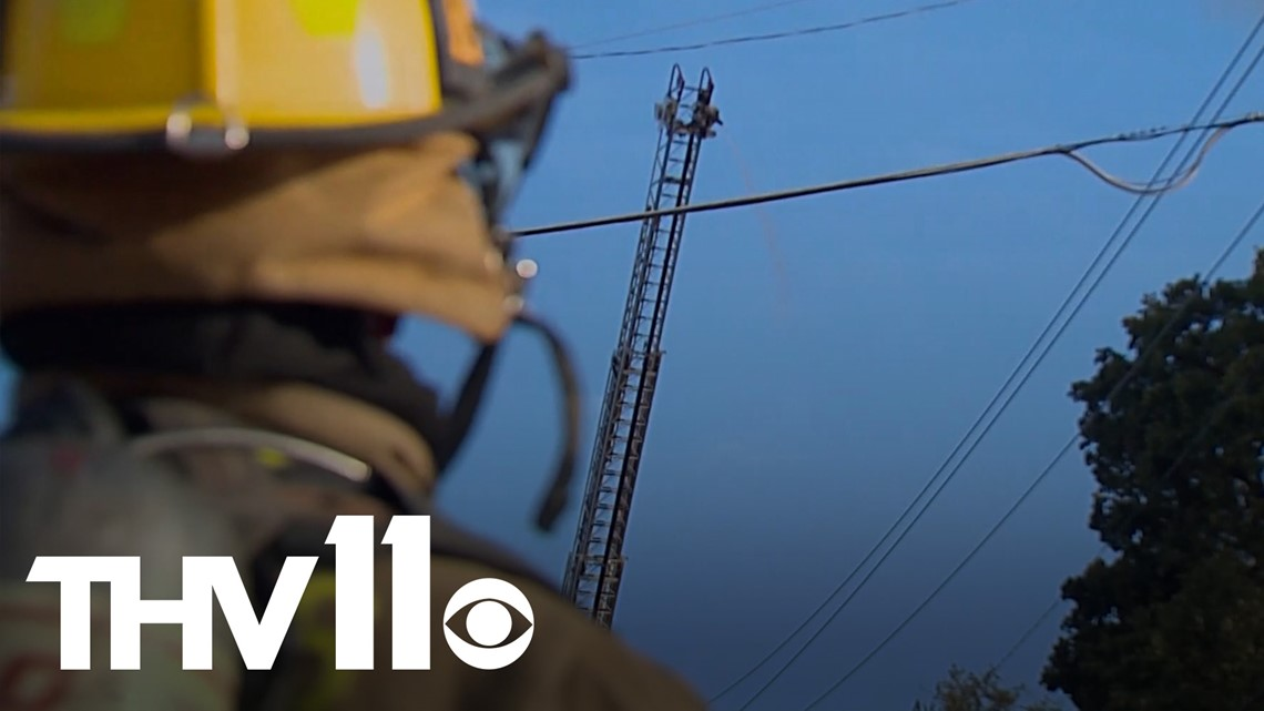 Arkansas therapist focuses on helping first responders | Saluting Heroes