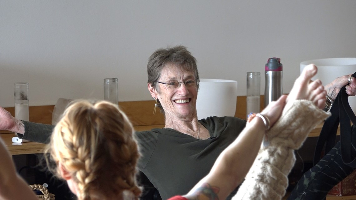 Woman has been in love with yoga for nearly 40 years, teaches at Arkansas Yoga Collective