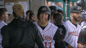 Fraley named Texas League player of the month