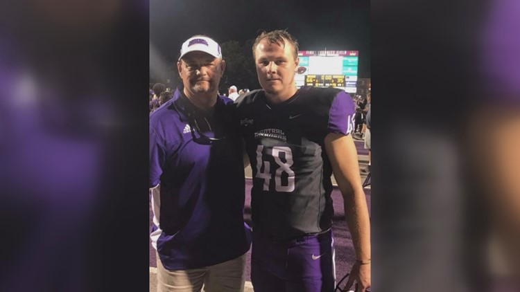 UCA Bear honors late father on the field just 48 hours after his death