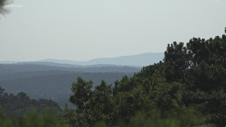Governor announces addition of Blue Mountain in Maumelle Pinnacles