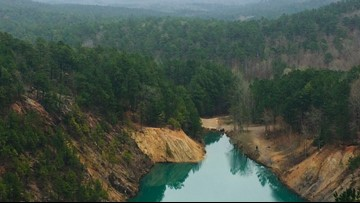 New landowner closes The Blue Hole in Hopper off to the public