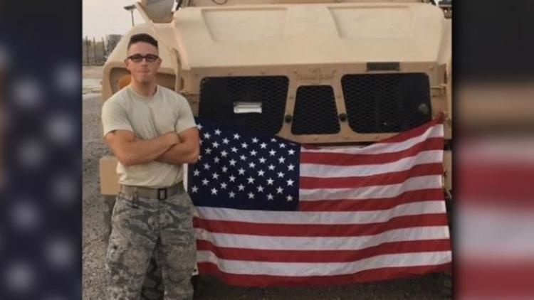 Family of airman killed during robbery suing gas station for wrongful death