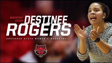 Destinee Rogers named A-State women's basketball coach