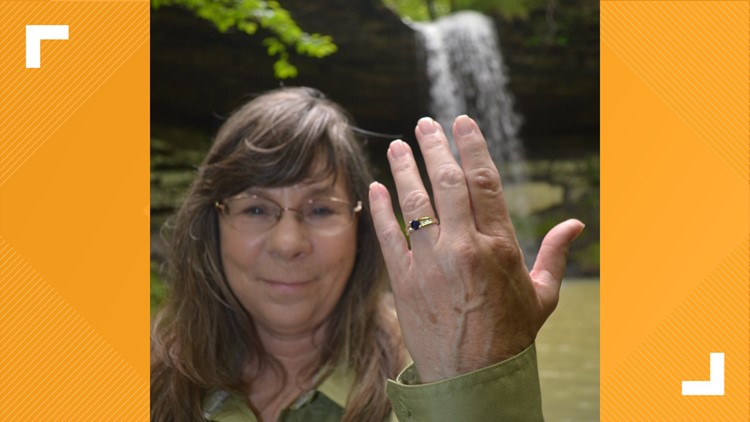 'Discover Arkansas' guide proposes to girlfriend while chasing waterfalls