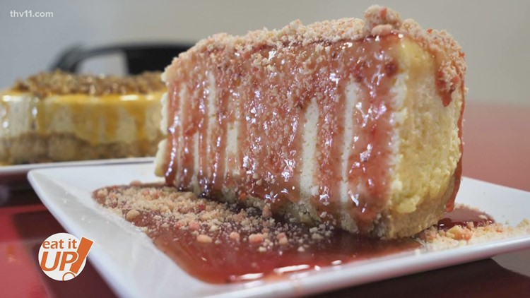 From shed to storefront, Cheesecake on Point's name says it all