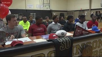 Six from Joe T. Robinson honored on National Signing Day