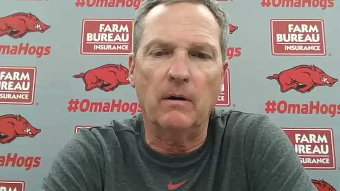 Dave Van Horn recaps game 2 loss to Georgia