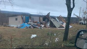 Confirmed EF-2 tornado destroys homes, causes damage across Logan County