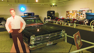 The Museum of Automobiles holds a vehicle owned by Elvis Presley and one driven by JFK