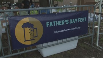 Arkansas Brewer's Guild hosts Father's Day Fest at MacArthur Park