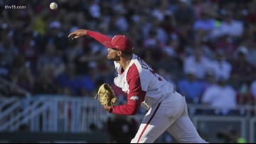Razorbacks edged by Seminoles in CWS opener